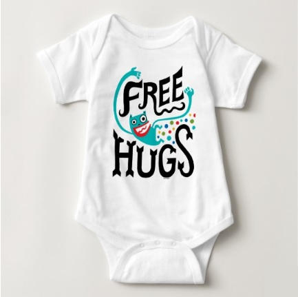 Monster Hug Bodysuit $16.95