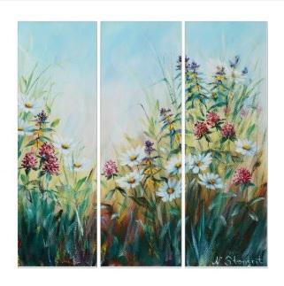 Flowers Triptych $297.15
