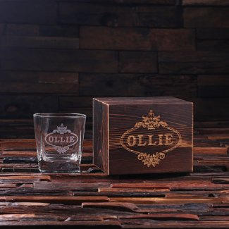 Whiskey Glass & Box $15.99