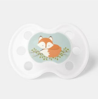 Woodland Fox Pacifier $13.70