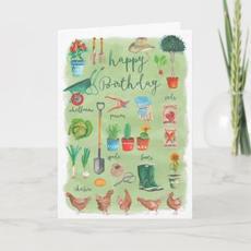 Gardener Birthday Card $3.45