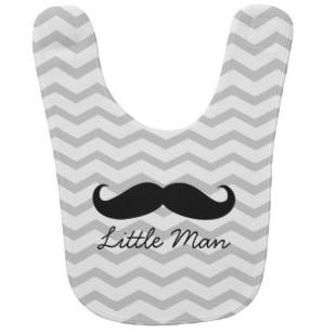 Little Man Baby Bib $17.85