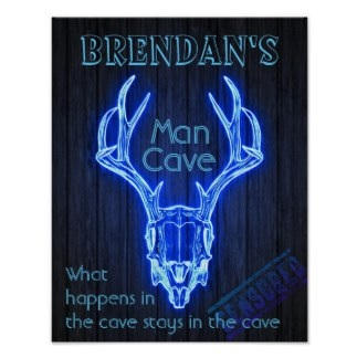 Cool Man Cave Poster &10.05