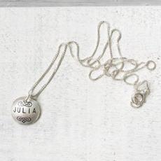Silver Name Necklace $41