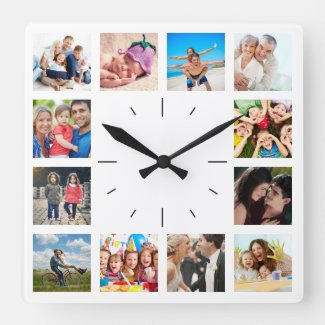 Classic Photo Clock $36.80