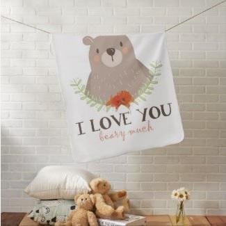 Bear Baby Blanket $33.30