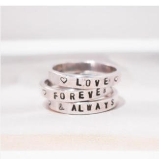 Sterling Silver Ring Set $105