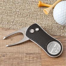 monogrammed golf divot tool