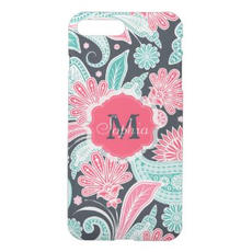 Trendy Paisley Floral