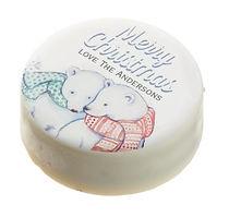 custom christmas oreo cookies with polar bears