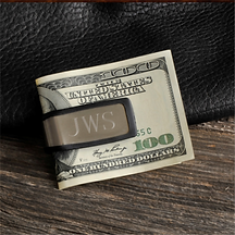 Personalized Money Clip - Sporty Fit