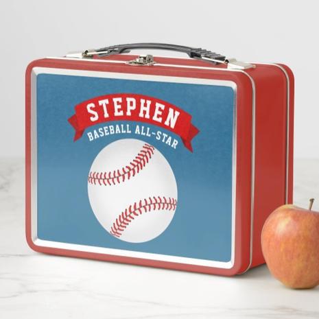 Baseball Lunch Box $27.00