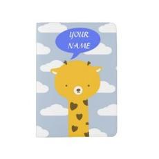 Giraffe Passport Cover $21.55