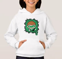 dc comics kids hoodies