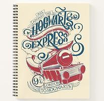 Harry Potter Hogwarts Express Kids Notebook