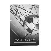soccer goal net personalised passport holder