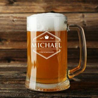 Personalised Beer Mug $14