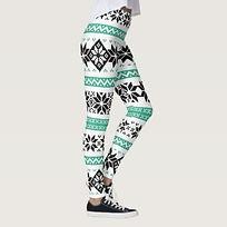 festive christmas leggings