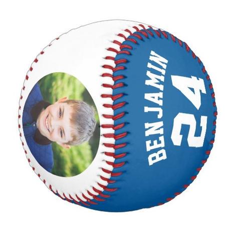 Blue Photo Baseball $31.30