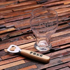 Round Beer Glass $19.19