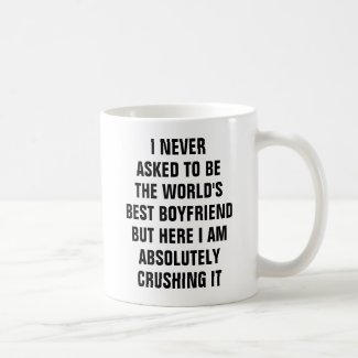 Boyfriend Quote Mug $17.75