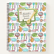 Recipe Notebook $17.90