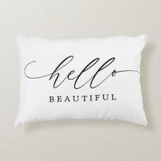 Hello Beautiful Pillow $34.55