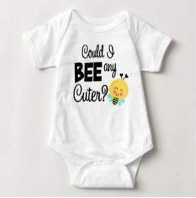 Cute Bee Baby Bodysuit $16