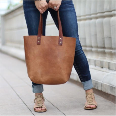 Brown Leather Bag $249.99