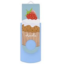 cute strawberry bun usb flash drive