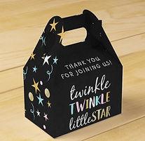 twinkle little star gender neutral baby shower favor boxes