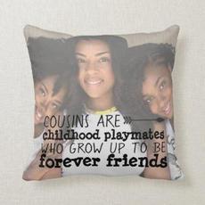 Cousin Photo Cushion $34.50
