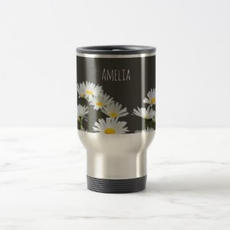 Daisies Travel Mug $26.35