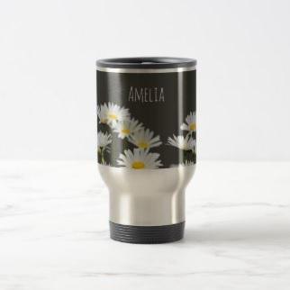Daisies Travel Mug $26.35
