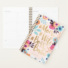 Floral #Wife Planner $24.50