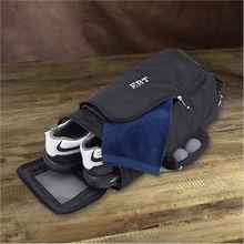 personalised golf shoe bag