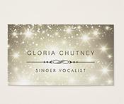 Singer Vocalist Business Cards