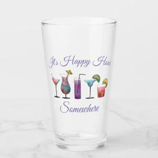 Happy Hour Glass $13.70