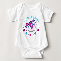 baby unicorn baby bodysuit