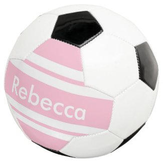 Pink Name Soccer Ball $64.45