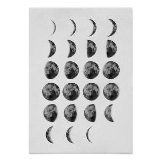 Moon Phases Poster $11.10