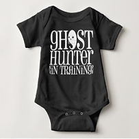 ghost hunter baby halloween bodysuit