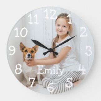 Full Photo Clock $34.80