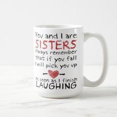 Sisters Quote Mug $17.95