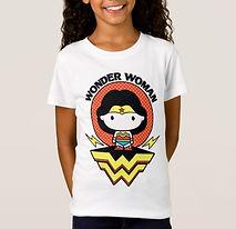 girls wonder woman t-shirt