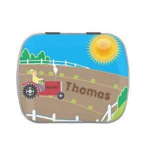 Tractor Candy Tin $6.35