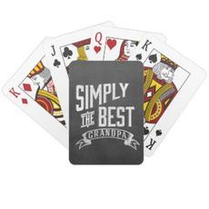 Grandpa Playing Cards $12.35