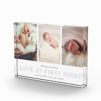 Baby Photo Trio Block $45.35