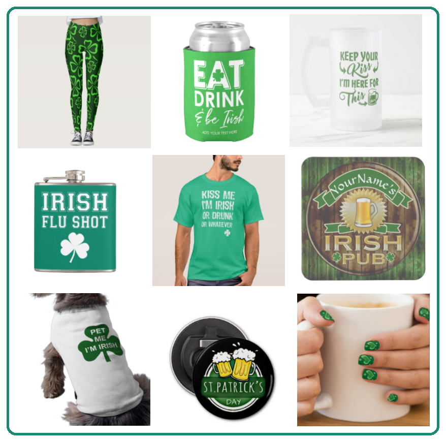 St Patrick's Day Products on Zazzle
