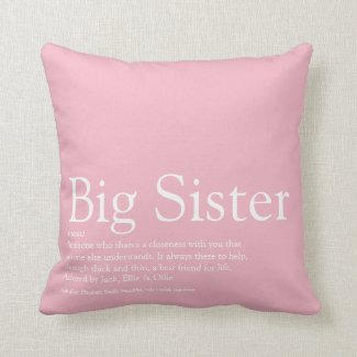 Sister Meaning Pillow $36.20